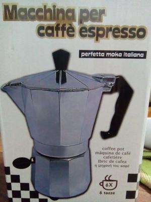 cafetera para cafe express
