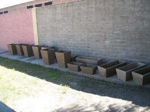 vendo macetas para jardin
