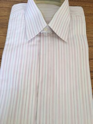 A estrenar camisa de vestir excelente calidad blanca con