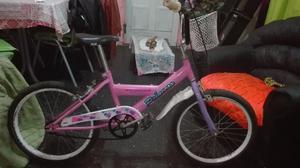 Bicicleta Pioneer Princess para niña usada