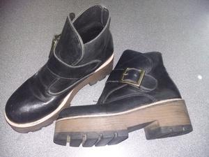 Botas de Cuero N°35