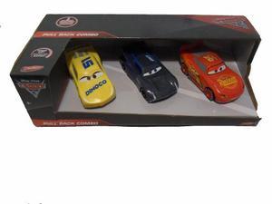 Cars 3 Rayo Mcqueen + Jackson Storm + Cruz Ramirez