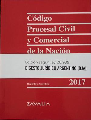 Código Procesal Civil Y Comercial De La Nación -