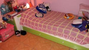 Cuna funcional completa cama debajo