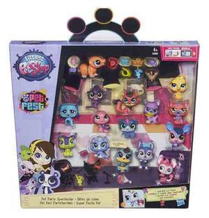 Littlest Pet Shop Coleccion Pet Party Spectacular Pack!!