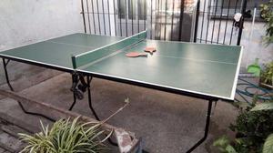 Mesa De Ping Pong Profesional Agm - Mas Kit De Juego usada