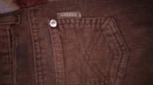 Pantalon de corderoy marca Cheeky