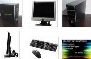 Pc completa amd athlon 64x2 - monitor lcd de 15 pulgadas