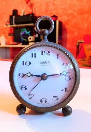 "Reloj despertador antiguo ""wehrle"" Piccadilly"
