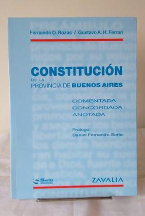 Rozas Y Ferrar - Constitución De La Pcia De Buenos Aires