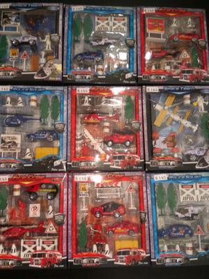 Set de Autitos con accesorios $145 consulte otras ofertas