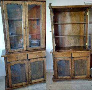 Vajillero, vitrina, modular