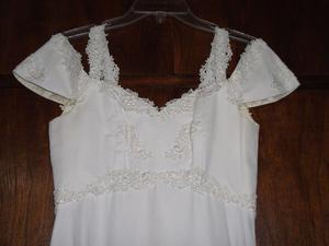 Vestido de novia + Zapatos + Tocado y ramo
