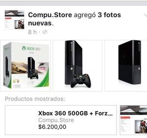 Xbox GB + Forza Horizon 2!2X1- DIA DEL NIÑO! Visita