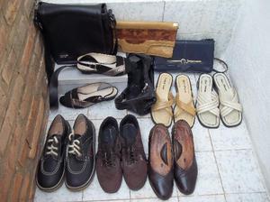 carteras y zapatos no 36 excelente estado