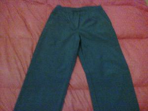4 pantalones de vestir, tiro medio azul marino talle  y