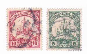 Estampillas-alemania Reich -colonia Africa- Subasta -tesoros