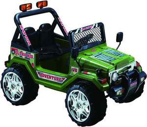 Jeep 4 X 4 A Bateria 12 Volts Con Control Remoto + Mp3
