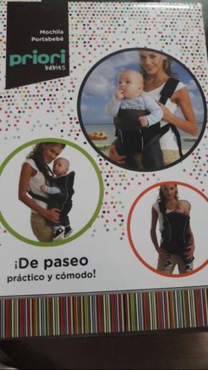 Mochila porta bebes marca Priori