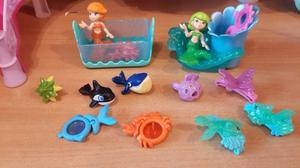 Muñecas sirenitas coleccion kinder grande