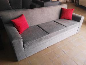 Sofa de living 3 cuerpos en chenille