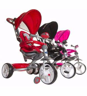 Triciclos Infantiles Astro Kiddy 4 En 1 Direccionable