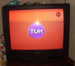 Tv Color Sanyo Clp Contro Remoto, Funciona Perfecto Ofer
