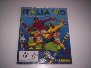 Vendo album de figuritas de futbol mundial italia 90 panini