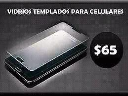 Vidrios templados para celulares