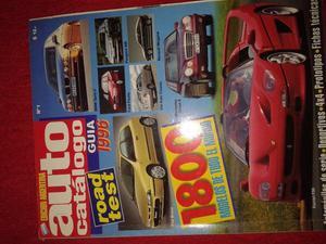 auto catalogo N 1 ROAD TEST guia