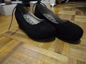 zapatos negros talle 38