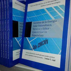 2da Edición Libro Energía Solar Fotovoltaica, Eólica