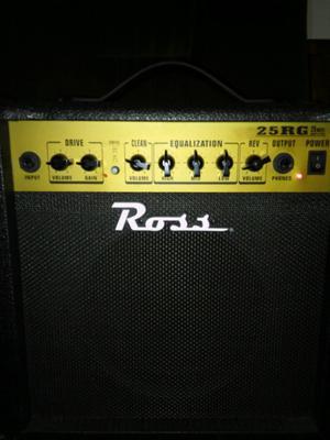 Amplificador de guitarra Ross 25 w RG reverb