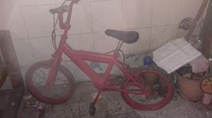 Bicicleta usada roja