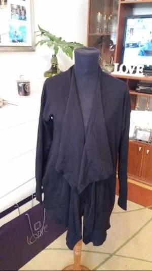 Cardigan Zara - NUEVO - negro, talle S (mas tirando a M)