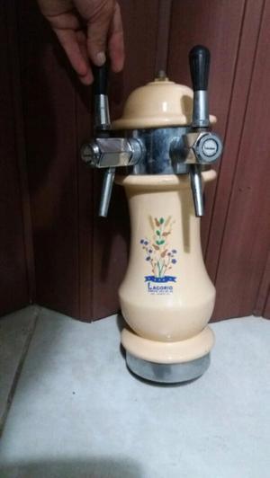 Chopera y barril