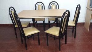 Vendo mesa ca o color plata y base c rdoba posot class for Comedor gota
