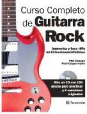 Libro: Curso Completo Guitarra De Rock - Editorial Parramon