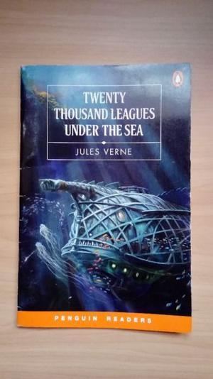 "Libro ""Twenty Thousand Leagues Under The Sea"" Julio Verne."