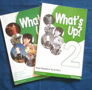 Libro WHAT'S UP? 2- Editorial Pearson: 2nd edition