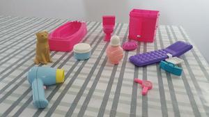 Excelente set de pasteleria barbie posot class for Accesorios inodoro