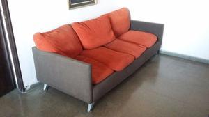 Sofa 3 cuerpos muy elegante