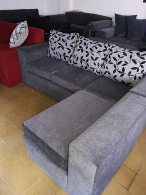 Sofa esquinero 2 x 1,60 m