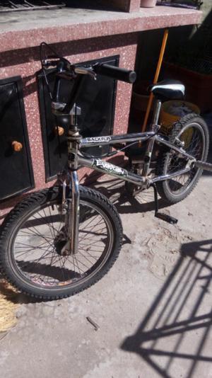 Vendo bici cromada