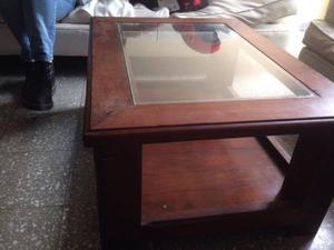 Vendo mesa ratona de algarrobo