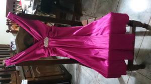 Vestido de raso sin uso
