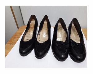 Zapatos de cuero. Número 39.