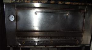 horno abobedado de 24 moldes con pie de hierro