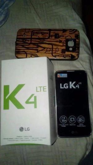liquido lg k4 nuevo en caja sin uso con funda tpu es 4g