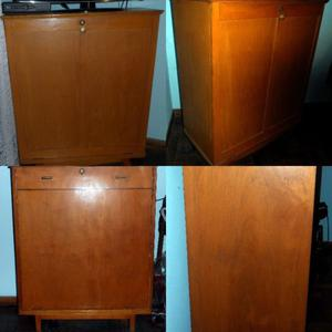 Dos (2) Mueble Cama Secreter Plegable de 1 Plaza
